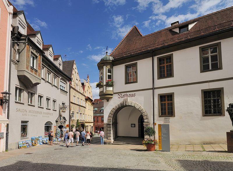 Rathaus in Füssen