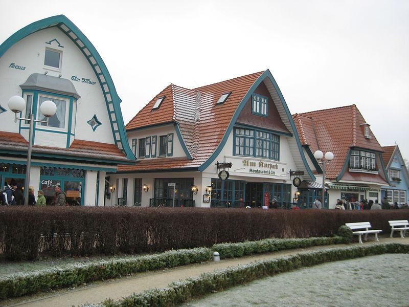 Bäderarchitektur in Boltenhagen