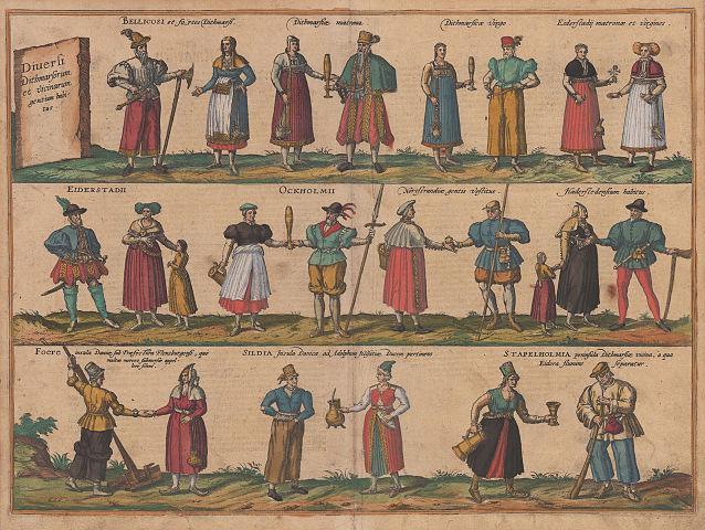 Geschichte der Dithmarscher Trachten