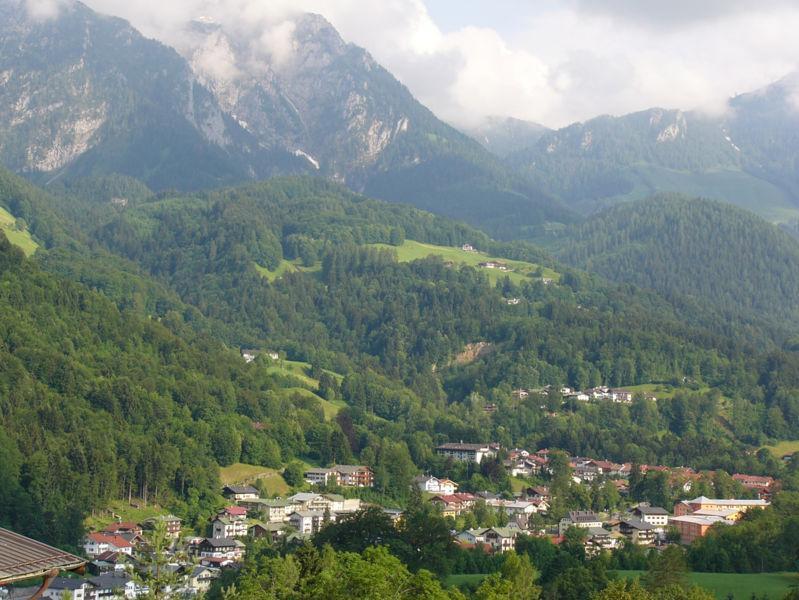 Die Bergkulisse in Berchtesgaden
