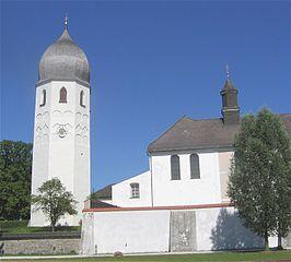 Glockenturm auf Frauenchiemsee
