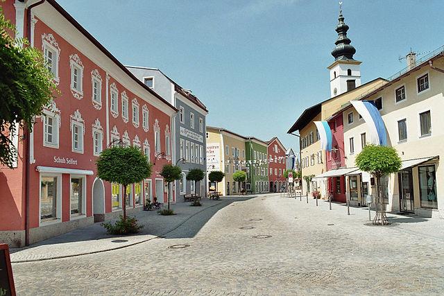 Marktplatz Waging am See
