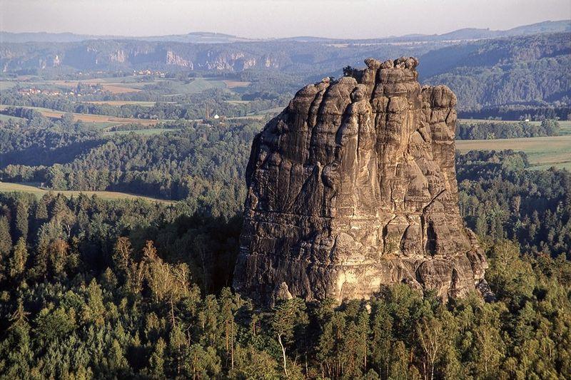 Felsformation in der Sächsischen Schweiz