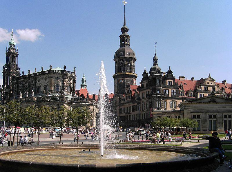 Altstadt in Dresden Mitte