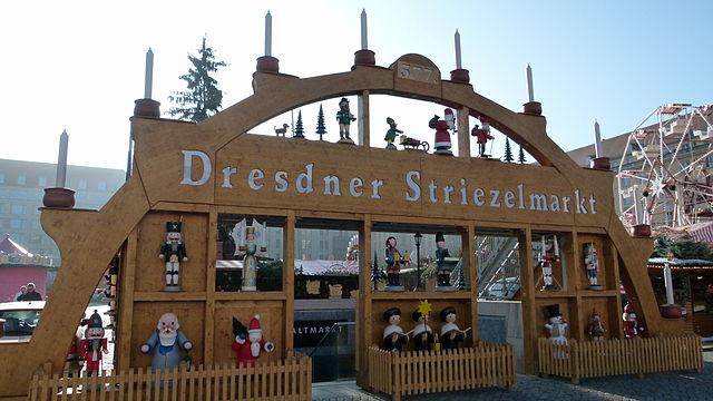 Der Striezelmarkt in Dresden