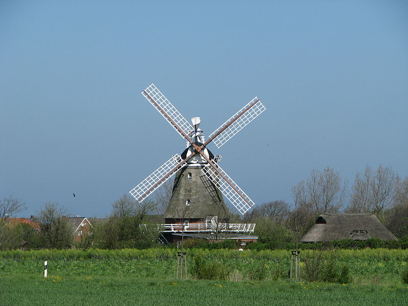 Windmühle in Oldsum
