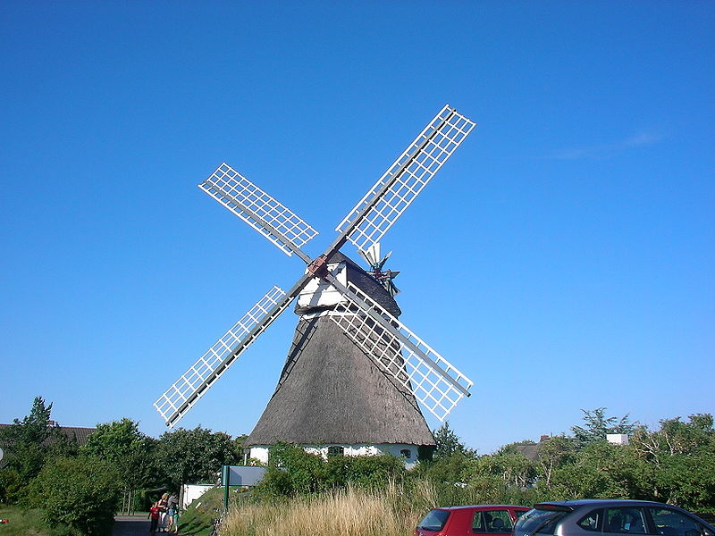 Windmühle in Wrixum