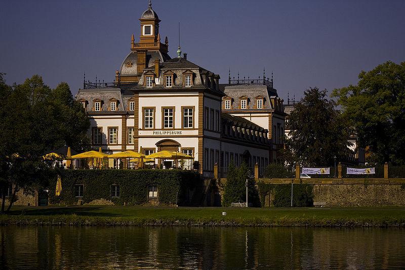 Das Schloss Philippsruhe in Hanau aus dem Jahre 1701