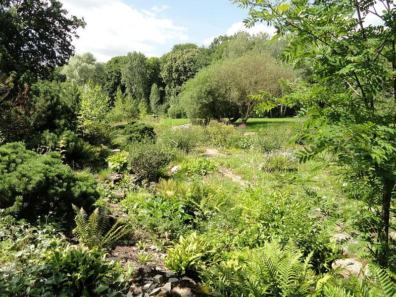 Der Botanische Garten bietet einen Ausflug in die Natur