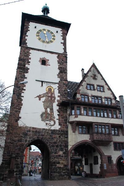 Sehenswertes Schwabentor in Freiburg
