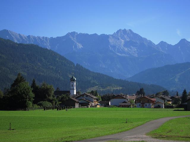 Farchant im bayerischen Oberland