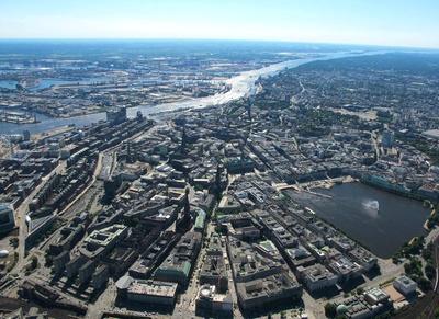 Scenic Flights over Hamburg