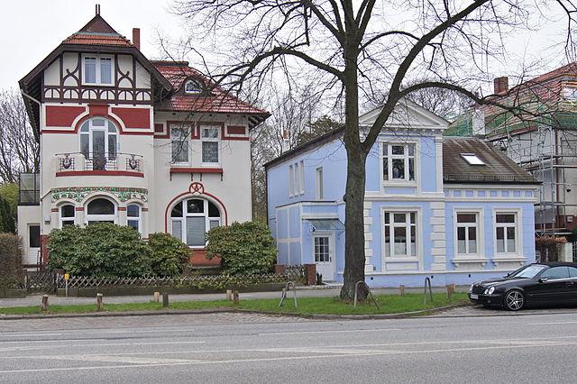 Villen an der Borsteler Chaussee, Groß Borstel