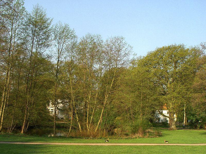 Der Von-Eicken-Park in Hamburg