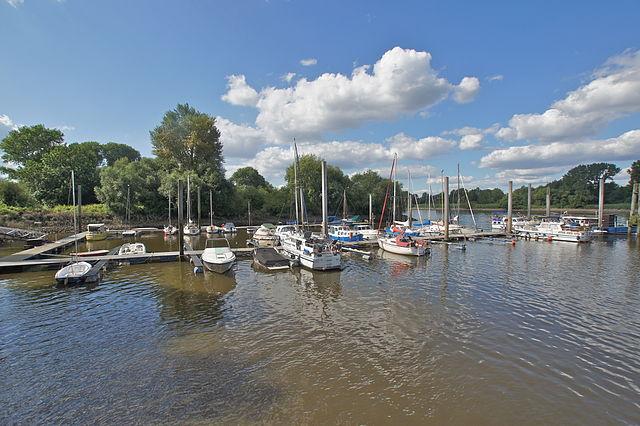 Sporthafen des Yacht Clubs, Hamburg - Neuland