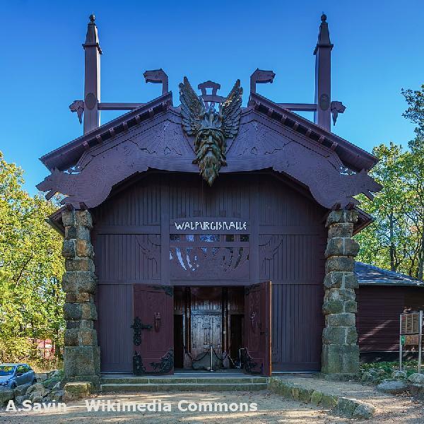 Walpurgishalle in Thale im Harz