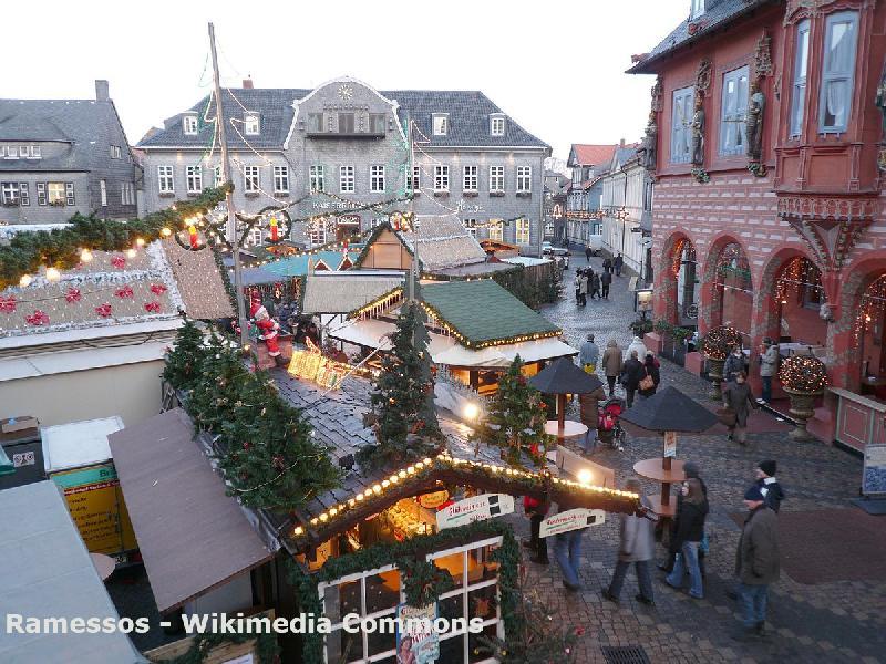 Veranstaltungen im Harz - Weihnachtsmarkt in Goslar
