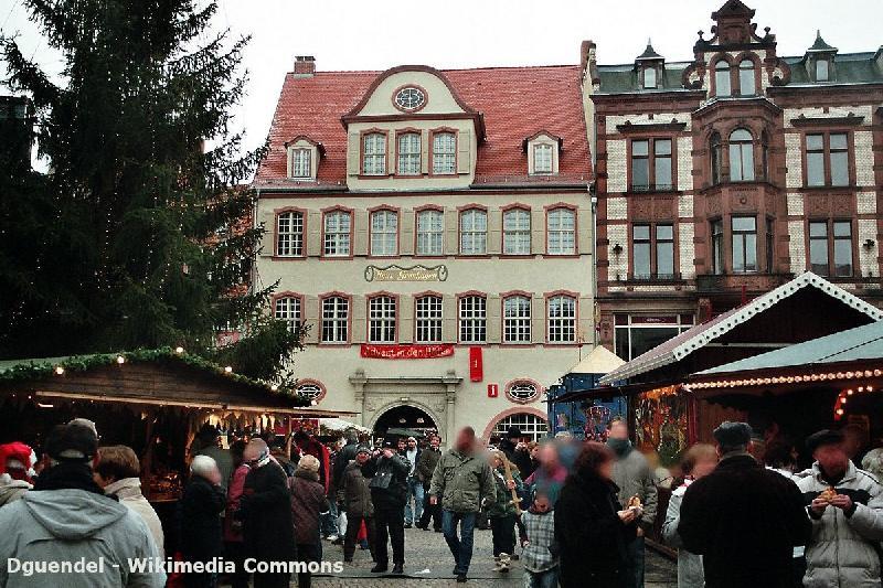 Veranstaltungen im Harz - Weihnachtsmarkt in Quedlinburg