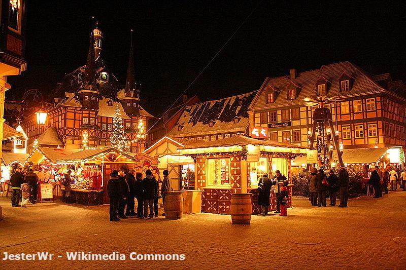 Veranstaltungen im Harz - Weihnachtsmarkt in Wernigerode