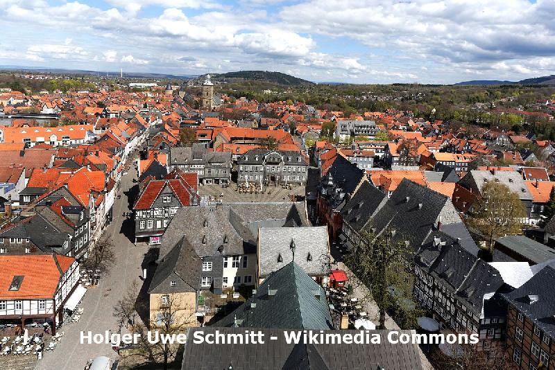 Die Altstadt von Goslar im Harz