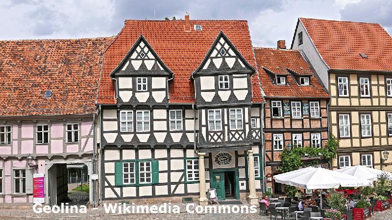 Altstadt von Quedlinburg im Harz