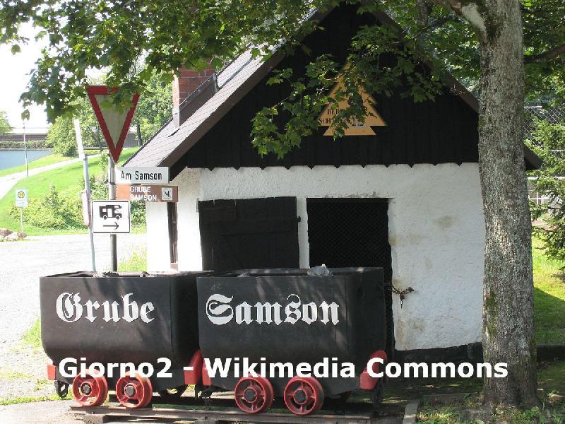 Grube Samson in St. Andreasberg im Harz