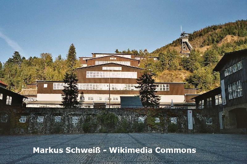 Weltkulturerbe Erzbergwerk Rammelsberg bei Goslar im Harz