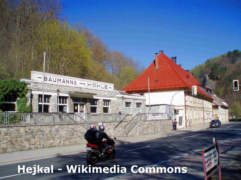Rübeländer Tropfsteinhöhlen in der Stadt Oberharz am Brocken