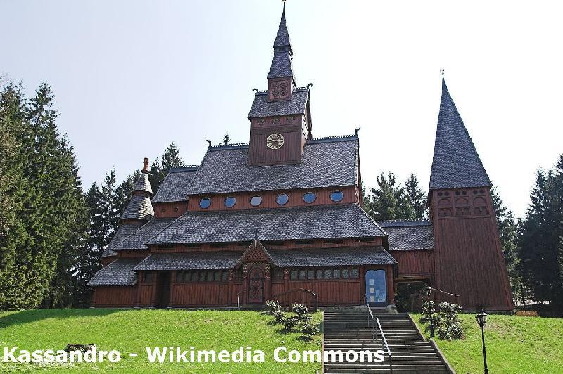 Gustav Adolf Stabkirche in Hahnenklee im Harz