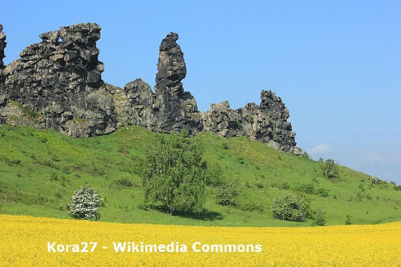 Teufelsmauer im nördlichen Harzvorland