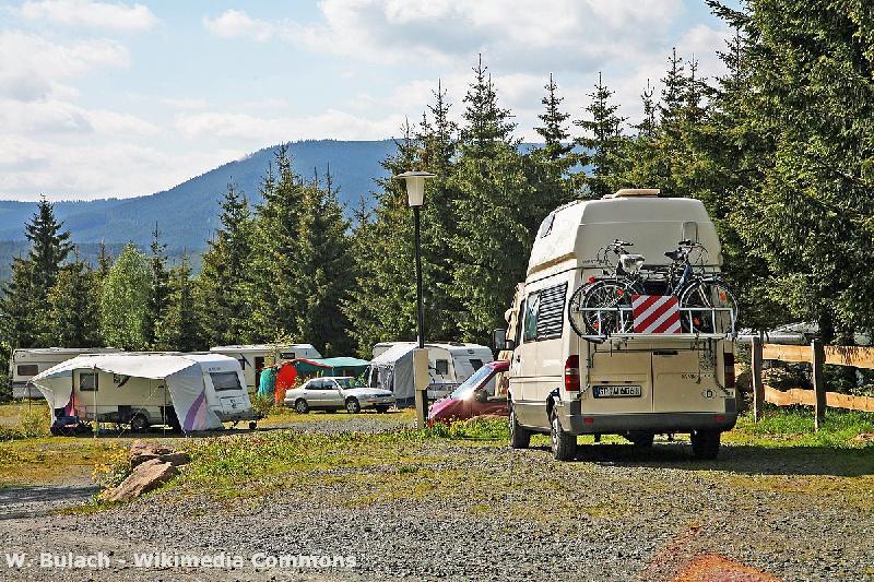 Campingplatz im Harz