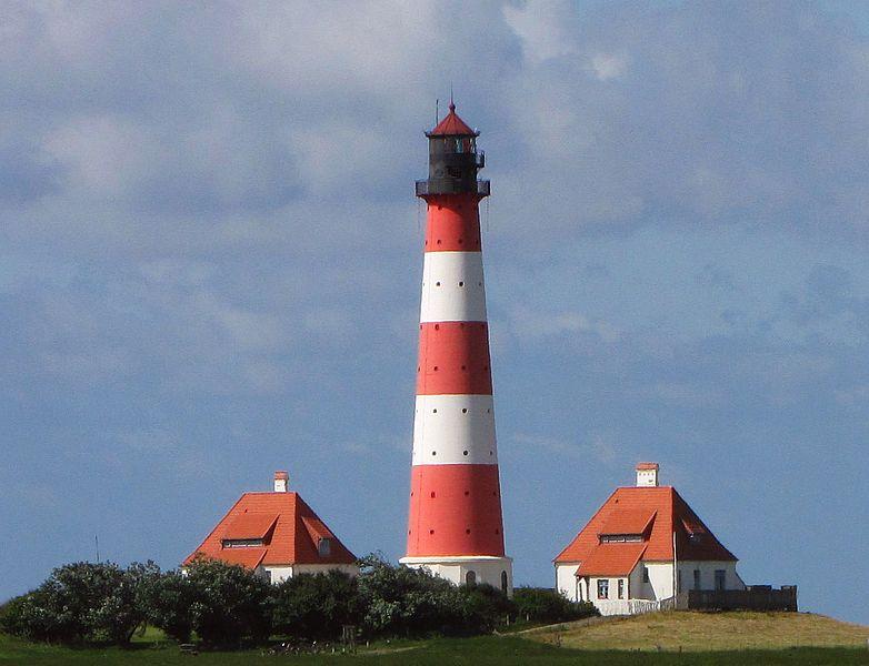 Leuchtturm Westerheversand in Nordfriesland