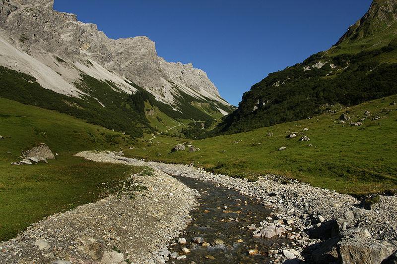 Das Klesenzatal in Vorarlberg