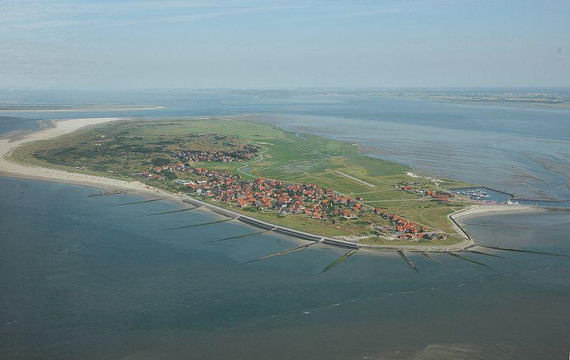 Luftaufnahme Baltrum