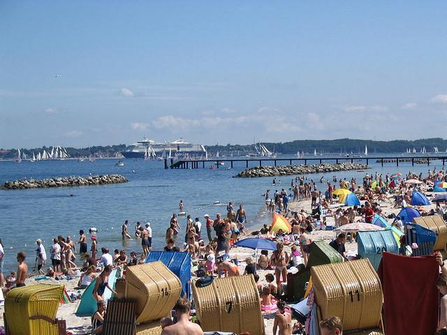 Strand in Schilksee