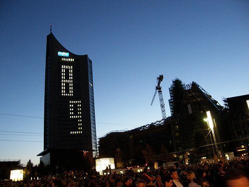 Lichtfest in Leipzig