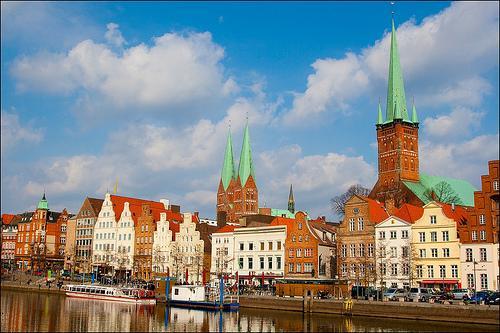 Lübeck Altstadt Obertrave