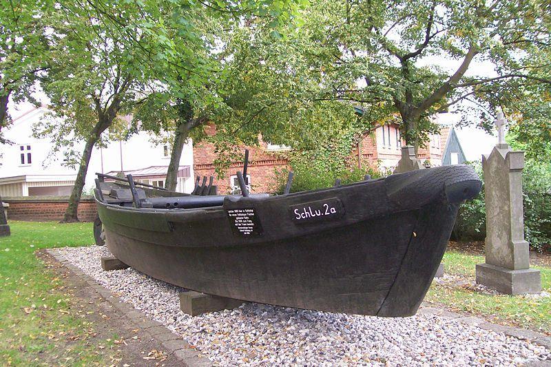 Fischerkahn in Lübeck Schlutup