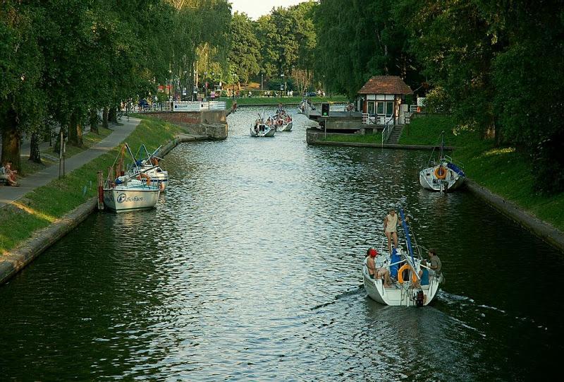Kanal in Lötzen