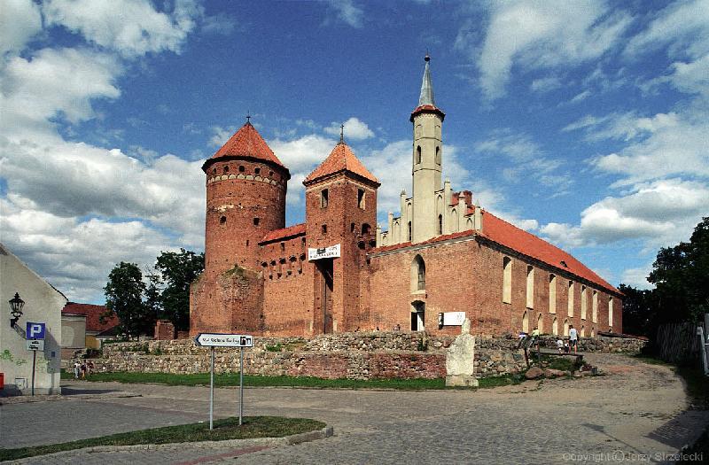 Die Burg in Rössel