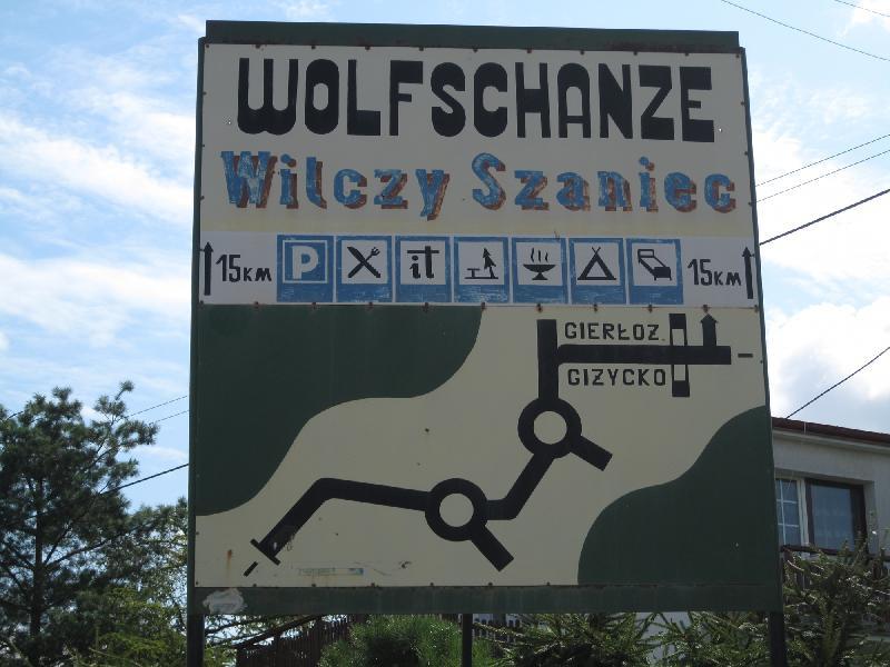 Wolfsschanze bei Rastenburg