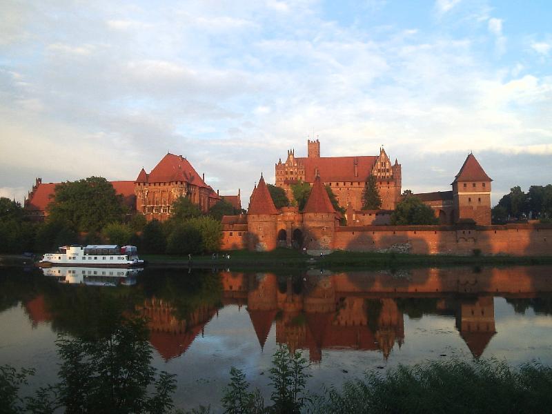 Burganlage in Malbork