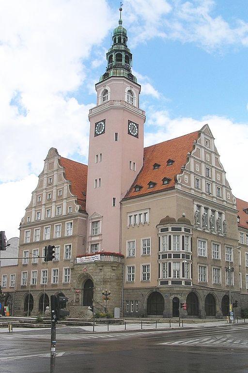 Rathaus in Allenstein