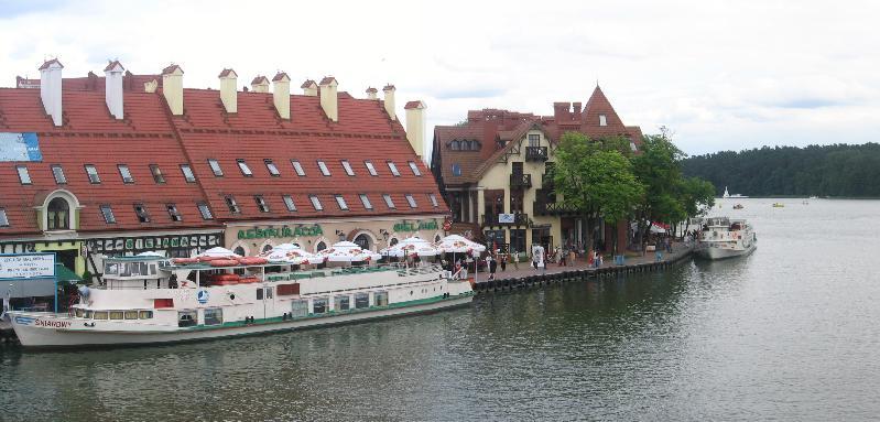 Hafenpromenade von Nikolaiken