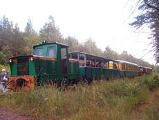 Kleinbahn in Lyck
