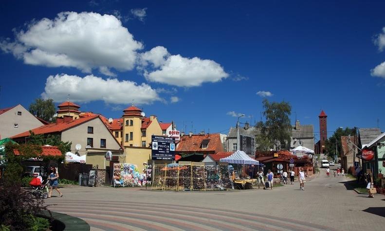 Zentrum in Nikolaiken