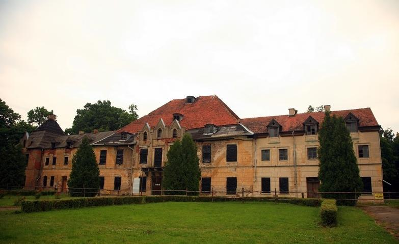 Der Schloss Steinort