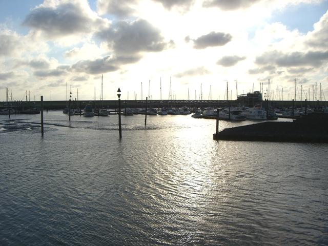 Der Norderneyer Hafen