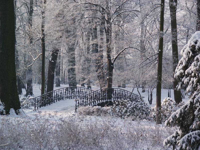 Szczytnicki Park in Breslau - einer der ältesten Parks Europas