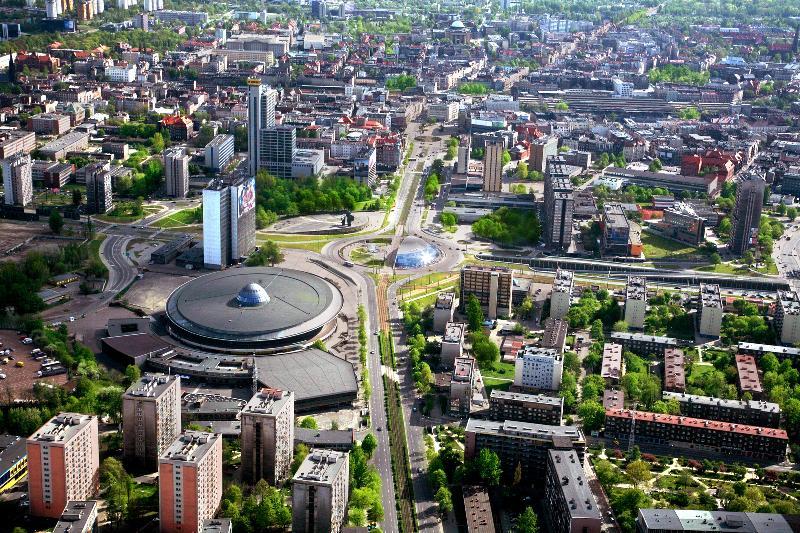 Katowice, die Hauptstadt Schlesiens